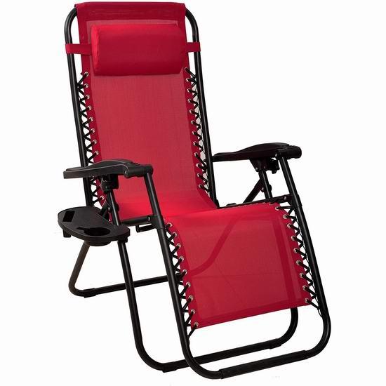 历史新低!午休神器 BalanceFrom 零重力躺椅 62.4加元包邮!