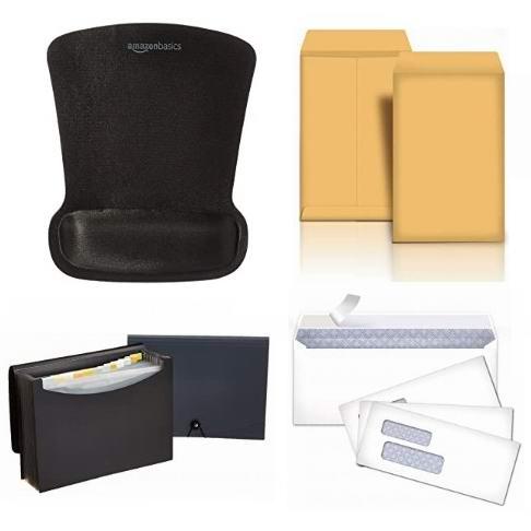 金盒头条:精选多款 AmazonBasics 文件夹、信封、鼠标垫、活页纸等5.8折起!