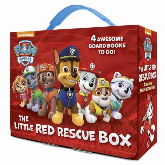 历史最低价!《The Little Red Rescue Box 汪汪队立大功 红色救援小分队》绘本故事小套装5.5折 10.99加元!