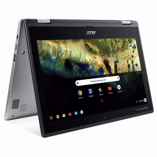 历史新低!Acer 宏碁 Spin 11 11.6英寸 Chromebook 触控屏 笔记本电脑 392.83加元包邮!