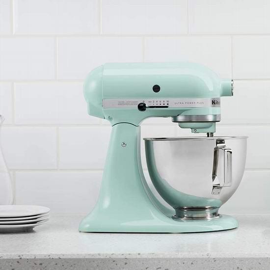 销量冠军!KitchenAid 厨宝 KSM150 Artisan 名厨系列5夸脱多功能厨师机6.7折 369.99加元包邮!6色可选!