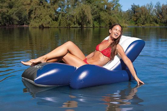 近史低价!Intex 充气式水上漂浮沙发 26.88加元!