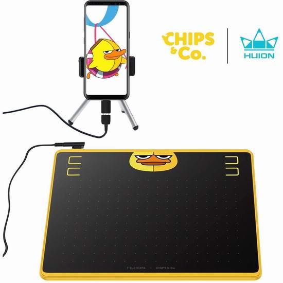 金盒头条:精选多款 Huion 绘王 手绘数位屏、绘画手写板全部7折,低至41.99加元!