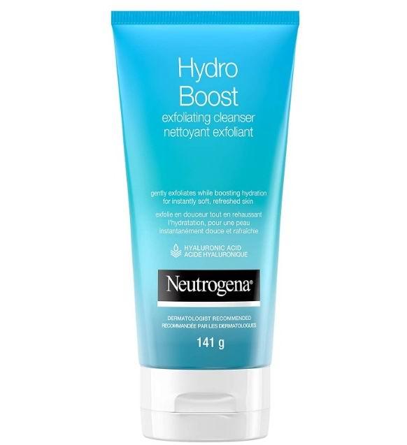 Neutrogena 露得清Hydro Boost去角质洁面乳 4.24加元,原价 9.97加元
