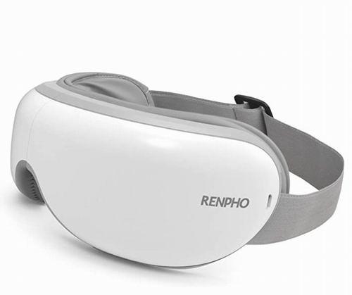 历史最低价!RENPHO 带加热 眼部按摩器 6.9折 50.14加元包邮!
