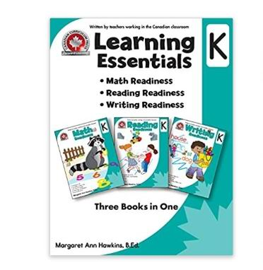 Canadian Curriculum Learning Essentials系列儿童数学阅读写作练习本 3.99加元起