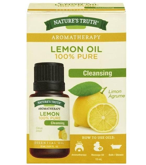 Nature's Truth 100%纯柠檬精油 15毫升 7.99加元,原价 11.63加元