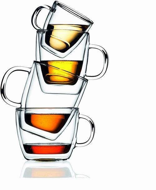 Bodum 丹麦 15盎司 双层隔热玻璃杯 2件套 30加元,原价 44.62加元