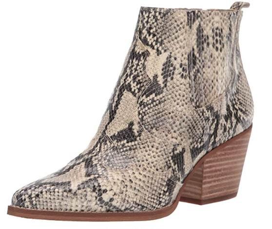 白菜价!Sam Edelman女士Winona西部靴 44.76加元(6.5码),原价 233.95加元,包邮
