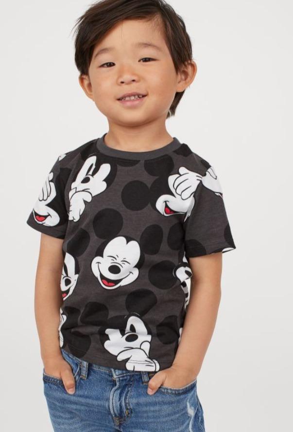 H&M 超级可爱儿童印花连衣裙、T恤、开衫、衬衣 4.99加元起