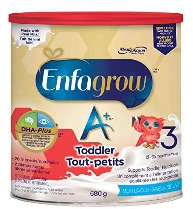 Enfagrow 美赞臣 A+ 幼儿配方奶粉 17.55加元!2种口味可选!
