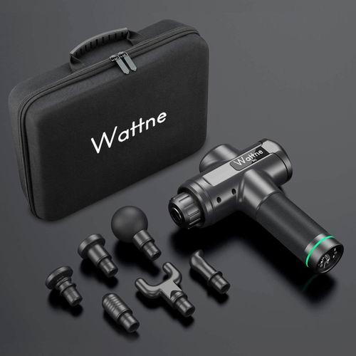 史低价!Wattne 深层肌肉放松 超静音筋膜枪/按摩枪 137.99加元(2色),原价 189.99加元,包邮