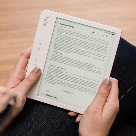 历史最低价!Kobo Libra H20 7英寸电子书阅读器 179.99加元包邮!