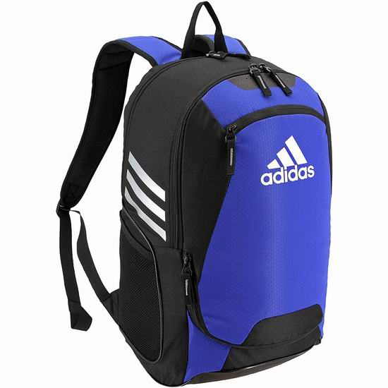 adidas Stadium II 经典双肩背包3.6折 25.56加元起!3色可选!