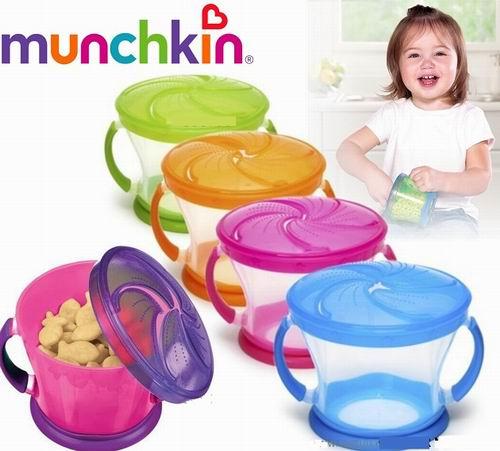 Munchkin 麦肯奇零食碗 2件套 8加元