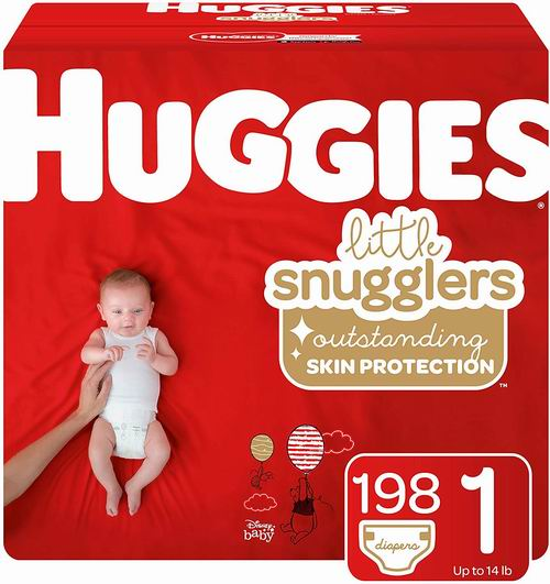 Huggies 婴幼儿纸尿裤 Size 2(180片)25.17加元,原价 52.74加元