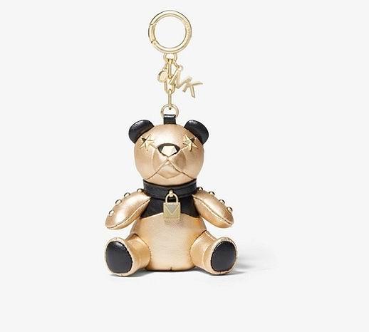 MICHAEL KORS Metallic泰迪熊钥匙链 64加元,原价 128加元,包邮