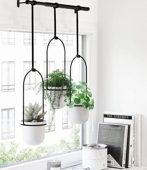 Umbra Triflora橱窗悬挂式花盆架 6.8折 50.97加元,原价 75加元,包邮
