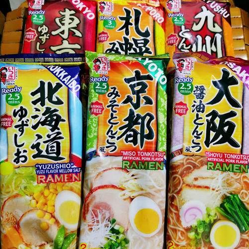 Itsuki Foods 豚骨拉面、炒面 3.29加元起特卖,多种口味可选!