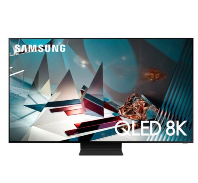 历史最低价!Samsung 65/75/82英寸Q800T 8K Ultra HD HDR 智能电视 2798-4998加元