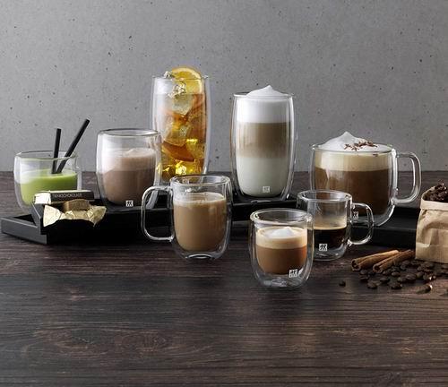Zwilling J.A. Henckels 39500-110 双立人 双层玻璃咖啡杯2件套 20.99加元!