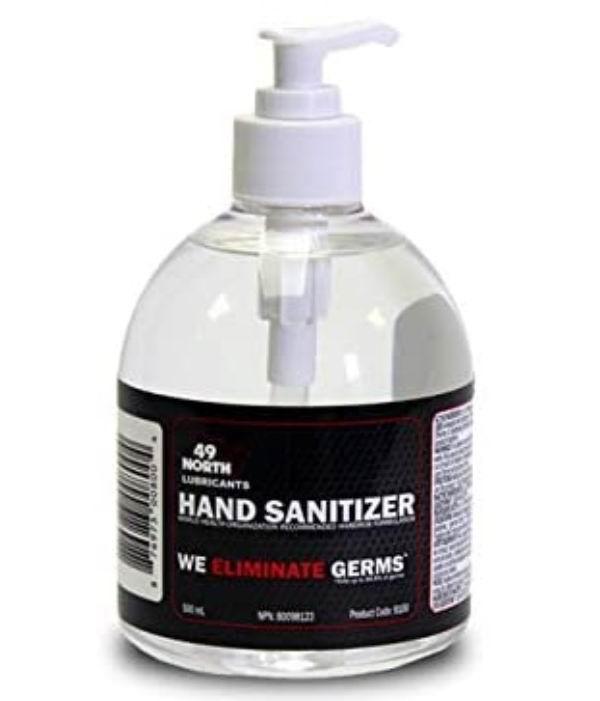 加拿大卫生部推荐!49 North Hand 75%酒精 免洗洗手液 500毫升 14.99加元