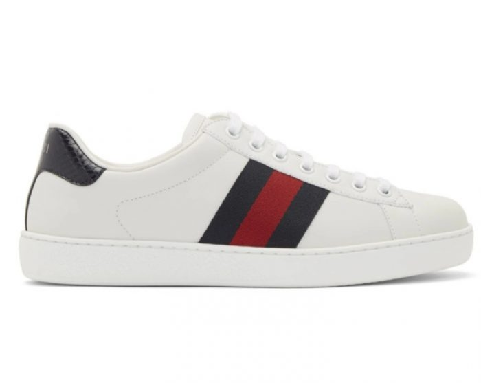 Gucci Ace 男士刺绣休闲鞋 610加元,官网价 785加元