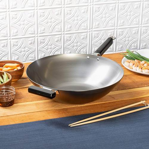 Joyce Chen 22-0060 Pro Chef 14英寸 中式碳钢炒锅 40.42加元包邮!