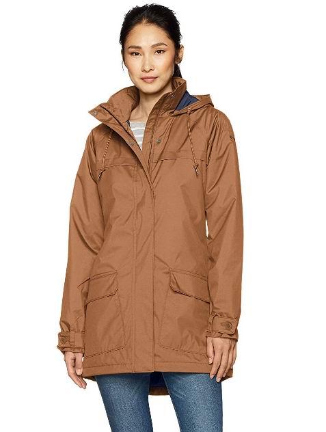 Columbia Lookout Crest Omni-Tech女士防水夹克 79.29加元(M码),官网价原价169.99加元,包邮