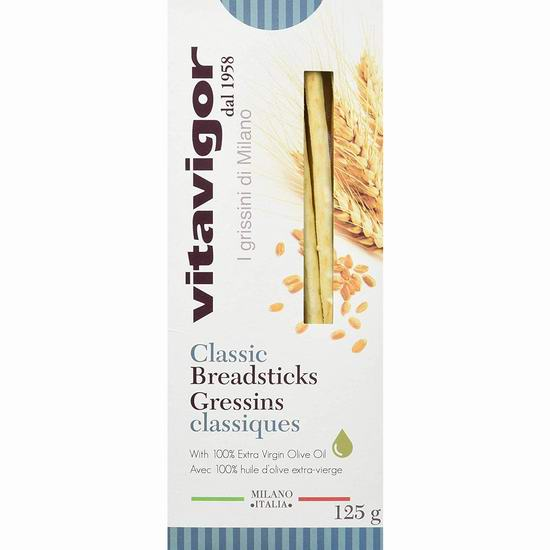 Vitavigor Classic 意大利酥脆面包棒(125克)0.99加元起 ,多种味道可选!