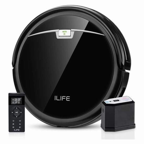 历史新低!ILIFE A4s Pro 2000Pa Max 超强吸力 超静音 智能扫地机器人 174.24加元包邮!