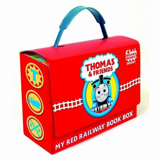 历史新低!《Thomas and Friends: My Red Railway》托马斯小火车绘本故事小套装5.2折 10.99加元!