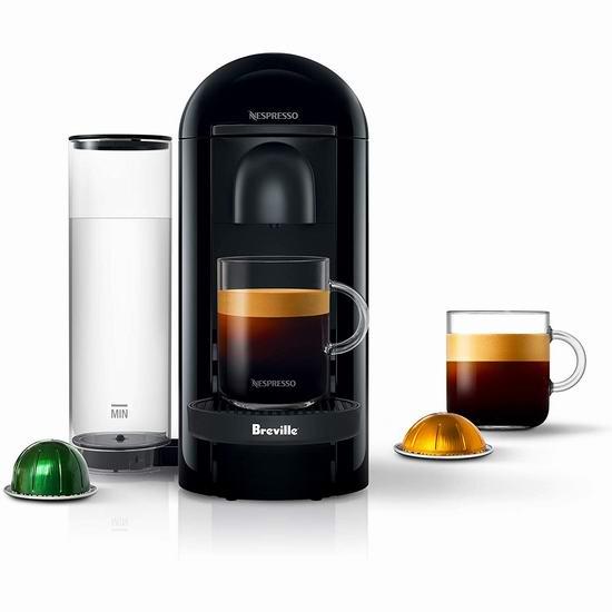 金盒头条:历史最低价!Breville BNV420IBL1BUC1 Nespresso VertuoPlus 胶囊咖啡机 99.99加元包邮!2款可选!
