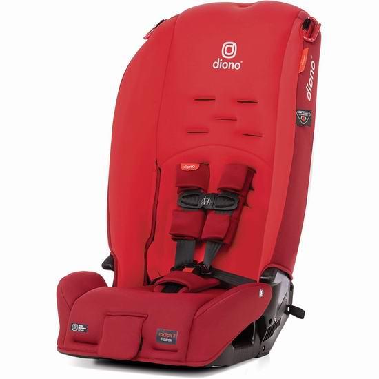 历史新低!新品 Diono 谛欧诺 2020 Radian 3R 成长型儿童汽车安全座椅 249.97加元包邮!4色可选!