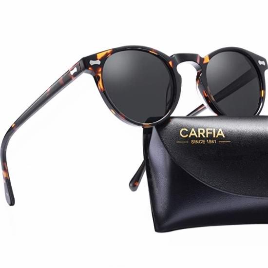 金盒头条:精选多款 Carfia Polarized 偏光太阳镜7.5折起,低至24.64加元!每款多色可选!
