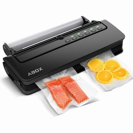 ABOX 五合一 真空食物保鲜机 67.99加元限量特卖并包邮!