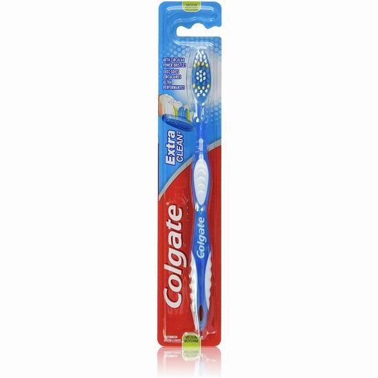 历史新低!Colgate 高露洁 Extra Clean 牙刷3.7折 0.75加元!