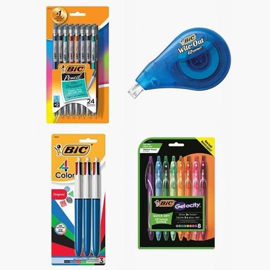 金盒头条:精选 BIC 马克笔、签字笔、荧光笔、原子笔、机械铅笔、修正带等6.2折起!低至2.86加元!