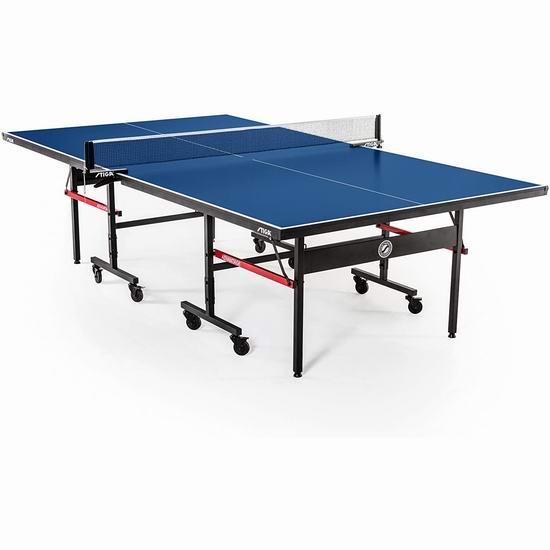 Stiga T8580W Advantage 锦标赛系列 折叠式乒乓球桌6.5折 455.08加元包邮!