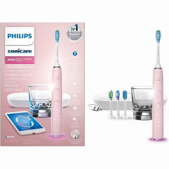 金盒头条:历史新低!Philips 飞利浦 HX9924 Sonicare DiamondClean 钻石亮白智能型 声波震动牙刷5.5折 169.99加元包邮!