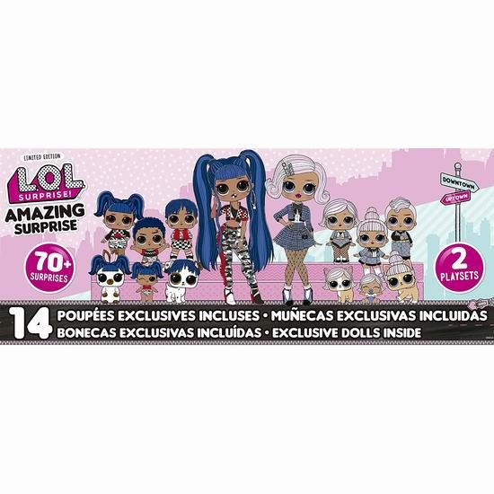 史低加!L.O.L. Surprise! 惊喜娃娃 14娃娃+70惊喜超大套装5.1折 89.99加元