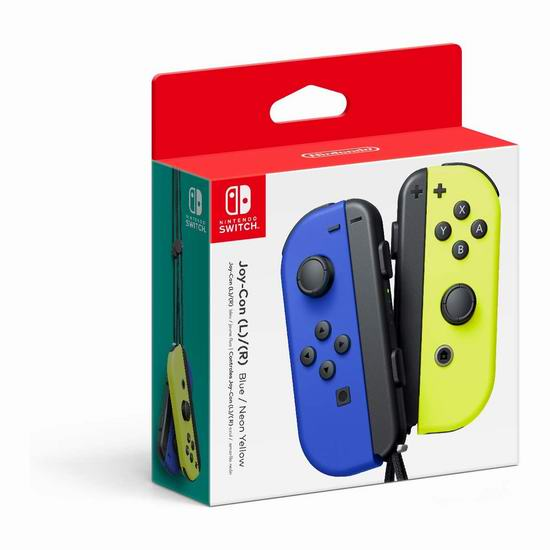 Nintendo 任天堂 Switch游戏机 配套Joy-Con游戏手柄2件套 99.99加元包邮!4款可选!