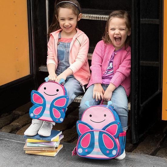 历史最低价!Skip Hop Zoo 超可爱儿童卡通午餐保温包5折 10加元!2款可选!
