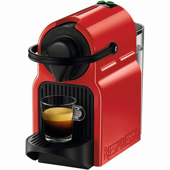 Nespresso Inissia 胶囊咖啡机 99加元包邮!