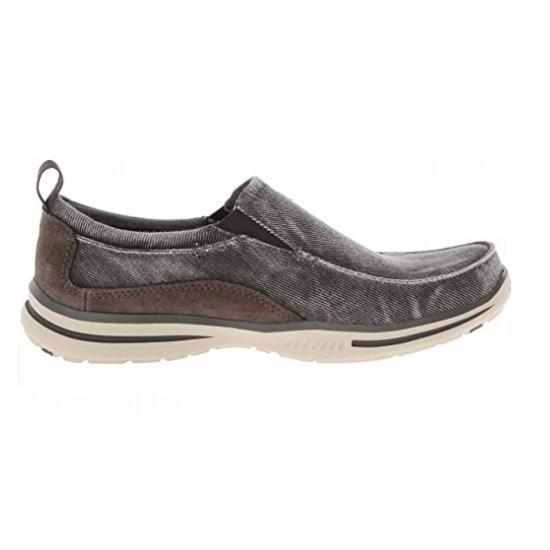 Skechers 斯凯奇 Elected Drigo 男式一脚蹬 休闲帆布乐福鞋4.2折 39.88加元包邮!