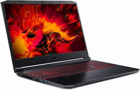 历史新低!Acer 宏碁 Nitro 15.6英寸游戏笔记本电脑(16GB, 512GB SSD, GTX 1650Ti) 1249加元包邮!