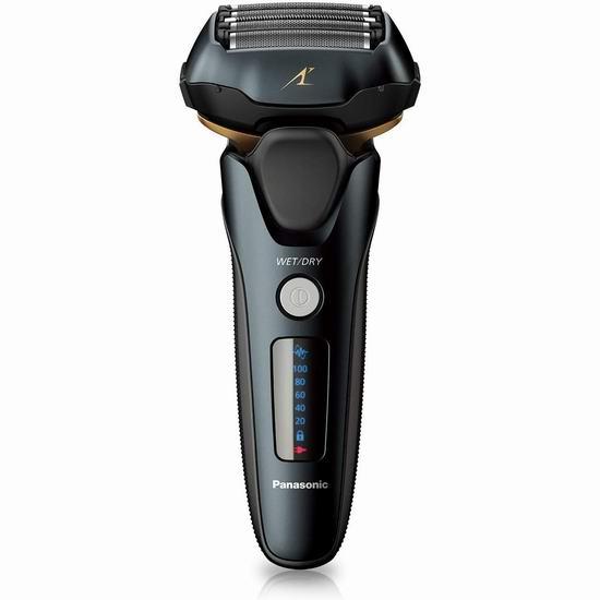 Panasonic 松下 Eslv67 5刀头干湿两用电动剃须刀 7.6折173.81加元包邮!