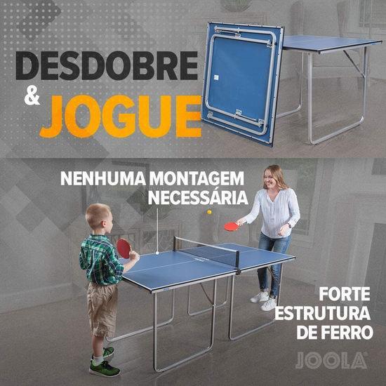 JOOLA 德国优拉 19110 多功能折叠式乒乓球桌/棋牌桌 179.98加元包邮!