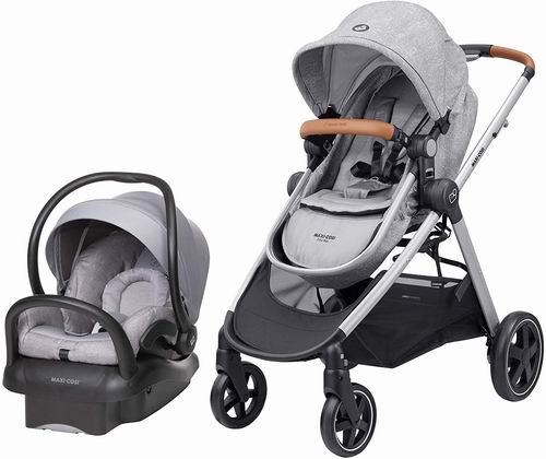 Maxi Cosi Zelia Max婴儿旅行系统 推车+安全提篮套装 593.55加元,原价 749.99加元,包邮