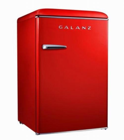 Galanz 格兰仕4.4立方英尺复古冰箱  299.98加元,原价 399.98加元,包邮